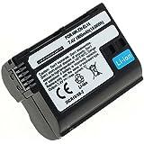 subtel® Batería para Nikon D750, D500, D600, D610, D800, D7000, D7100, D7200, 1 V1, MB-D12 - 1900mAh bateria de repuesto Nikon EN-EL15, ENEL15
