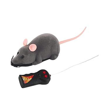 Elektrische Drahtlose Fernbedienung RC Ratte Maus Spielzeug Haustier Katzen Katzen
