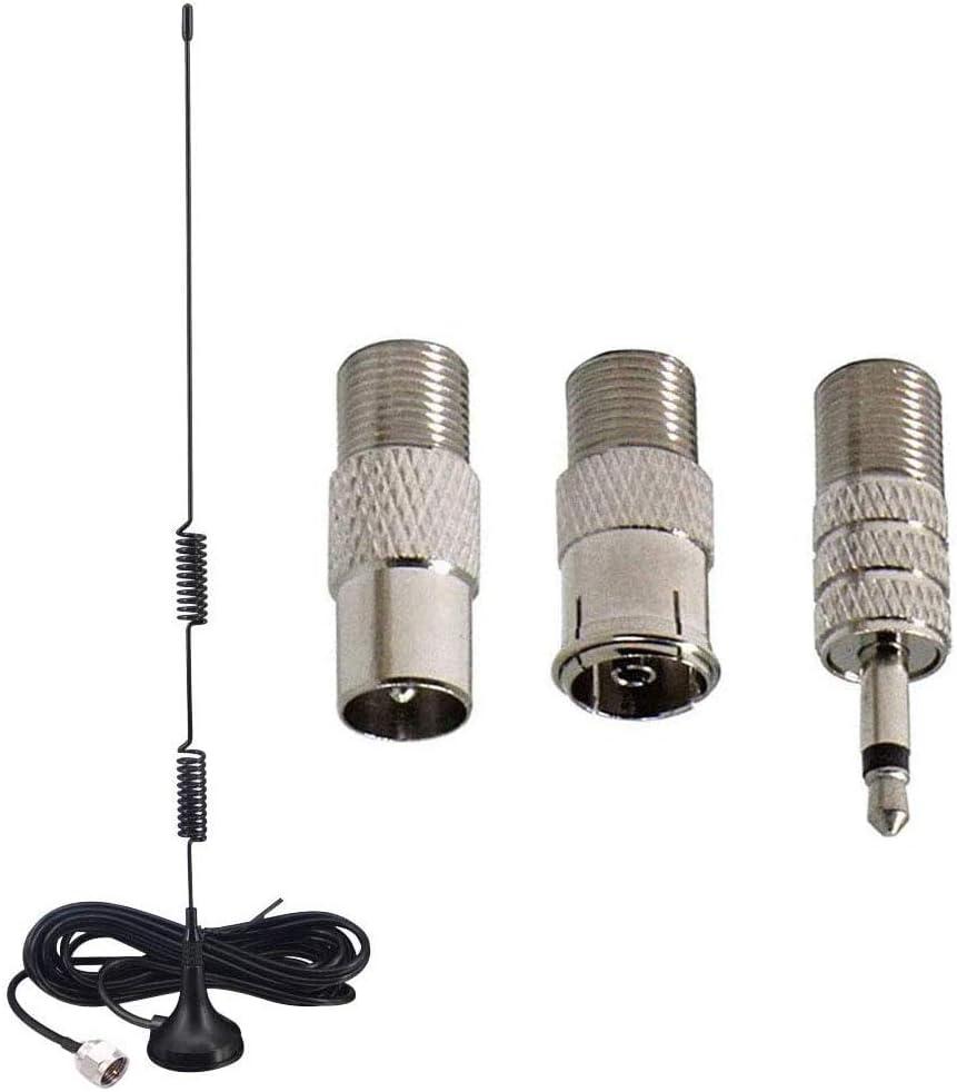 Runcci Yun Ukw Fm Radio Antenne Mit Magnetfuß 3m Elektronik