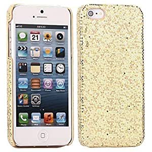 Bling Sequins Hard Cover Case for iPhone 55S , Red