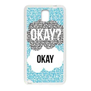 Happy Fresh warm dialogue Cell Phone Case for Samsung Galaxy Note3