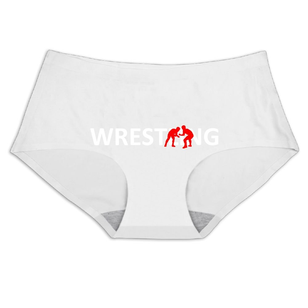 Women's Underwear Wrestling Player Lover Low Waist Seamless Ice Silk Panties Briefs by MOCSTONE