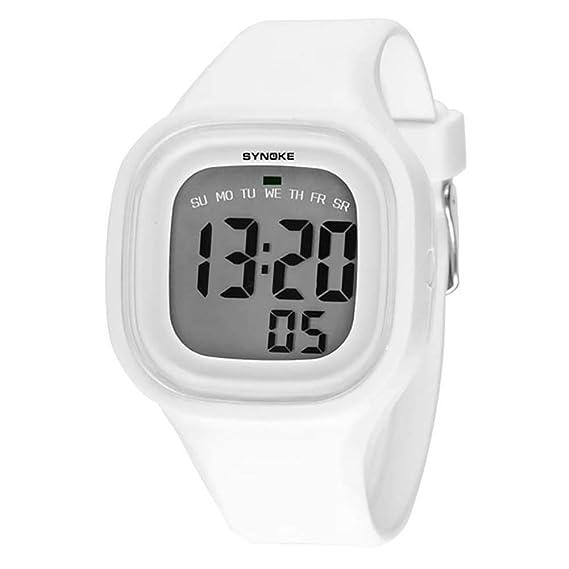 Niños Niñas Niña Niño Relojes de Pulsera Reloj Silicona LED Luz Digital Deporte Relojes Digital Niños Reloj: Amazon.es: Relojes