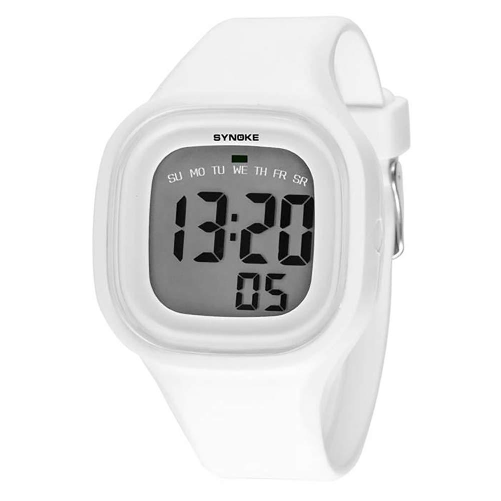 Kids Children Girl Boy Watches, Wrist Watches Clock Silicone LED Light Digital Sport Watches, Digital Children's Watch