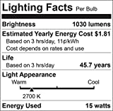 Luxrite 6 Inch Indirect LED Recessed Light, 15W