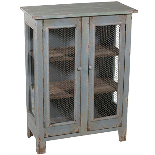 Essential Décor Entrada Collection Wooden Cabinet, 42 by 31.5 by 15-Inch
