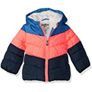 OshKosh B'Gosh Girls' Perfect Colorblocked Heavyweight Jacket Coat