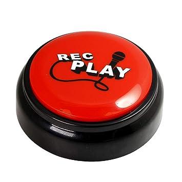 Record Talking Button Custom Easy Button Record Any 30 Seconds Funny  Message,Sound Record Button , Press Button B