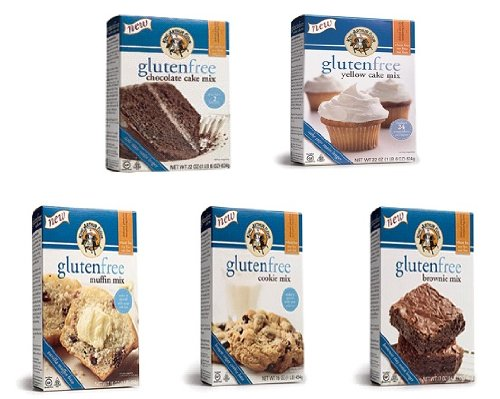 King Arthur Gluten-Free Cake and Cookie Variety 5 Pack