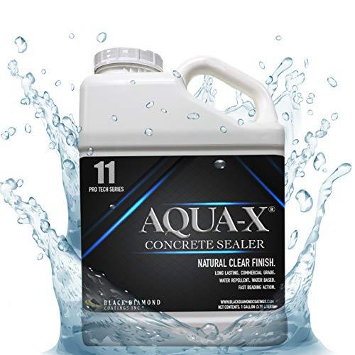 1 Gallon AQUA-X 11 Clear, Penetrating Concrete Sealer - Mold and Mildew Inhibitor
