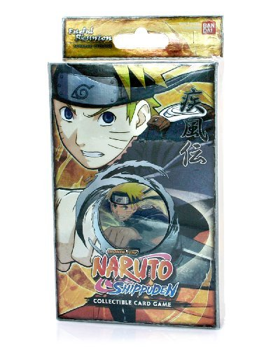 (Bandai Shippuden Card Game Fateful Reunion Naruto Supreme Cyclone Theme Deck)