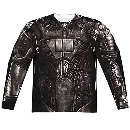 Borg Costume -- Star Trek All-Over Sports Fabric Long-Sleeve T-Shirt, Large - Borg Costume Star Trek