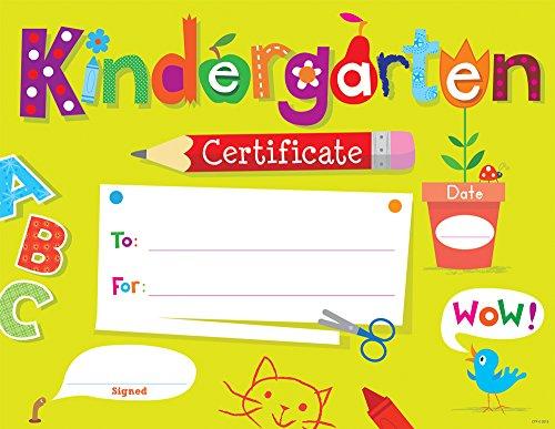 Kindergarten Graduation Certificates: Amazon.com