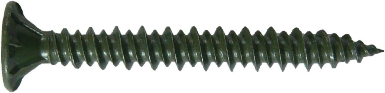 T-25 Torx Head #8 x 1-1//4 Cement Board Torx//Star Head Screws Drill Point for Fastening Cement Backer Board//Cement Board//Tile Board 1 lb ~161 Screws Torx//Star Drive Cement Board Screw