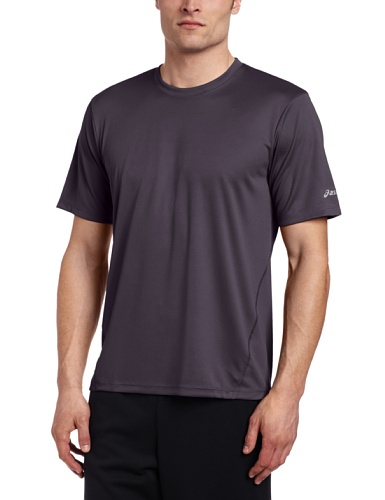 ASICS Men's Core Short Sleeve Shirt, X-Large, Steel