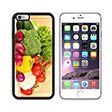 Liili Premium Apple iPhone 6 Plus iPhone 6S Plus Aluminum Backplate Bumper Snap Case iPhone6 Plus IMAGE ID: 20965306 Fresh vegetables on wooden background200