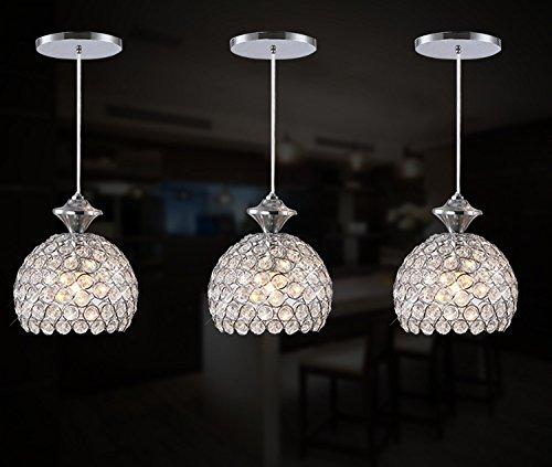 FixtureDisplays 3 Lights Ceiling Pendant Lighting Modern Chandelier for Restaurant Bar Kitchen Island Dining Room 15853 by FixtureDisplays