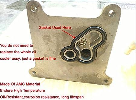 Oil Cooler Gasket set with Oring seal For 07-13 Nissan Altima Sentra Rouge 2.5L