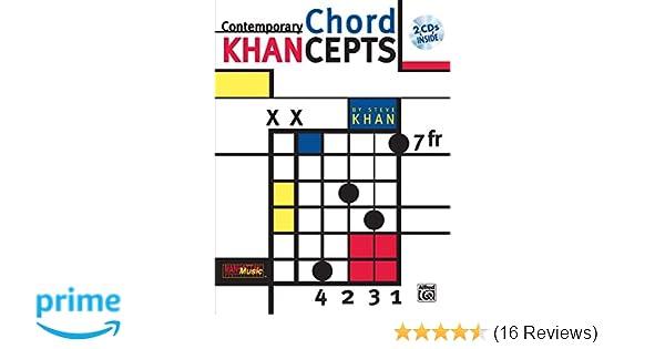 Contemporary Chord Khancepts: Steve Khan: 0029156267372: Amazon.com ...