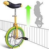 """GC Global Direct 16"""" Vibrant Unicycle Wheel"""