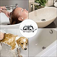 Bestrice Drain Hair Catcher 304 Stainless Steel Bathtub Protector Tub Strainer