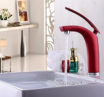 peiwenin salle de bain toilette couleur crative cuivre robinet deau chaude et froide