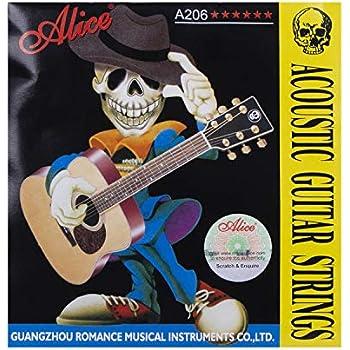 alice 6 string beginner 11 gauge acoustic guitar strings 3 pack super light. Black Bedroom Furniture Sets. Home Design Ideas