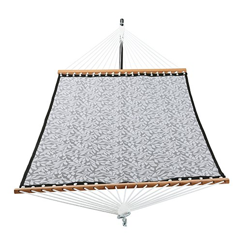 Patio Watcher 14 FT Quick Dry Rope Hammock with Double