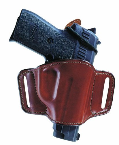 Bianchi 105 Minimalist with Slot Hip Holster - Size: 1 Ruger Sp101 (Tan, Right Hand) (Hip 1 Holster)