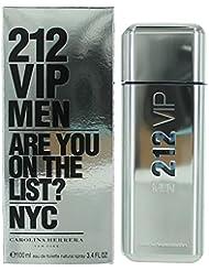 212 Vip by Carolina Herrera Eau De Toilette Spray for Men, 3.4 Ounce