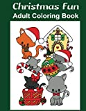 img - for Christmas Fun: Adult Coloring Book book / textbook / text book