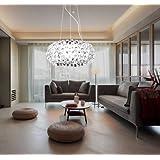 MCTECH® 24W Kristall Deckenleuchte Hängeleuchten Wohnzimmer 3 ...