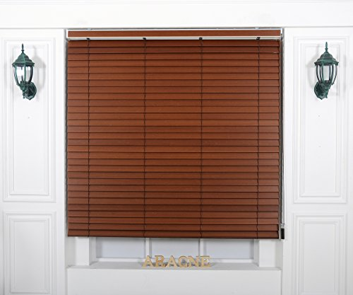 Custom Cut to Size , [Winsharp Wood Bamboo , bamboo_5010, W 47 x H 47 (Inch)] Horizontal Window Real Wood(Bamboo) Blinds & Treatments , Maximum 95 Inch Wide by 103 Inch Long ()