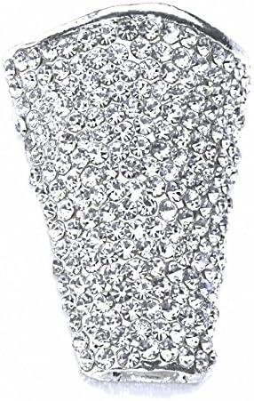 Diamond Horizon Boutonniere Holder Silver Corsage Creations