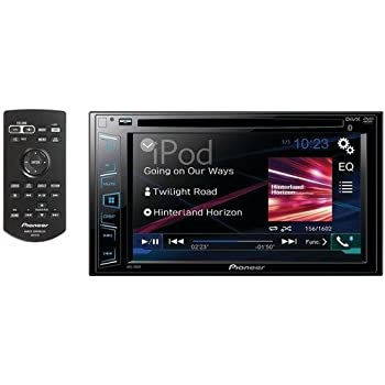 "Pioneer AVH-290BT Multimedia DVD Receiver with 6.2"" WVGA Display and Built-in Bluetooth"