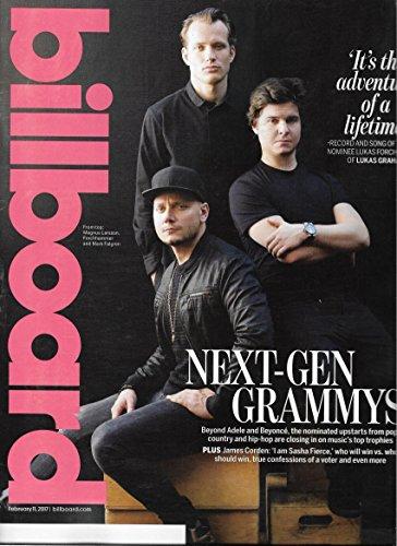 Magnus Larsson, Lukas Forchhammer & Mark Falgren - February 11, 2017 Billboard