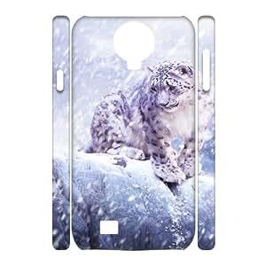 SamSung Galaxy S4 I9500 Animals 3D Art Print Design Phone Back Case Custom Hard Shell Protection HB052311