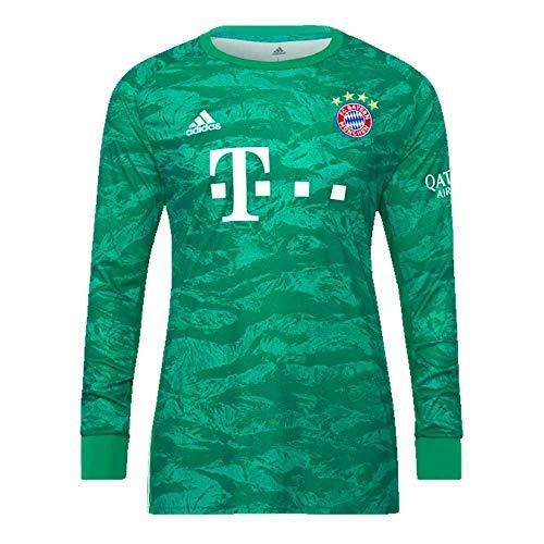 (adidas 2019-2020 Bayern Munich Home Goalkeeper Football Soccer T-Shirt Jersey)