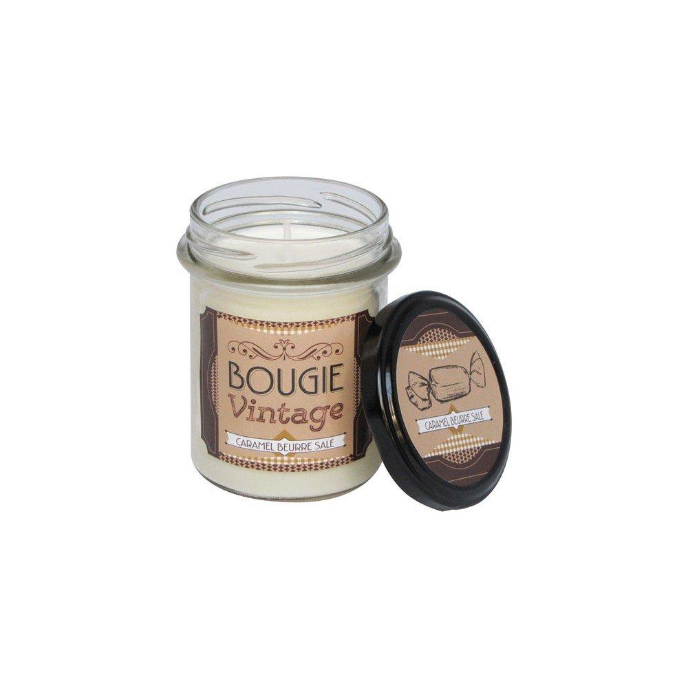 Odyssée des sens, Bougie Vintage 150g Caramel beurre salé