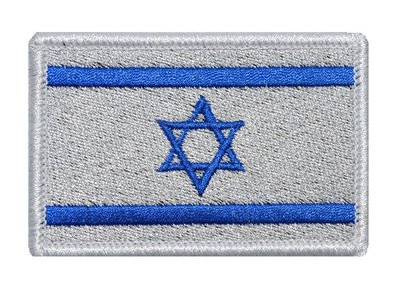 ShowPlus Israel IL Flag Military Embroidered Tactical Velcro