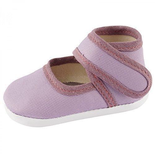 Toma - Patucos de lana para niño lila