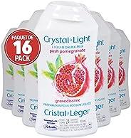 Crystal Light Posh Pomegranate Liquid Drink Mix, 48mL (Pack of 16)
