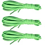 3 Pairs Shoelaces CaseHQ Flat Shoe Laces 52 inch Strings Flat Athletic Shoelaces Shoe Laces for Running Shoes Sports Shoes Sneakers Boots Skates Board Shoes Casual Shoes