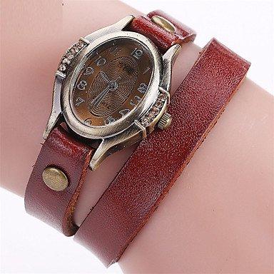 Bellos Relojes, reloj de pulsera de la mujer reloj único creativo reloj Casual reloj reloj