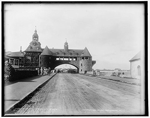 - Vintography 8 x 10 Ready to Frame Pro Photo of The Casino Narragansett Pier R I 1899 Detriot Publishing 56a
