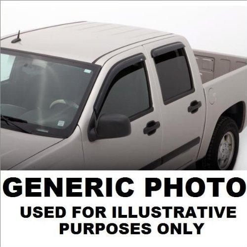 AVS Smoked Rainguards 06-11 Ford Fusion