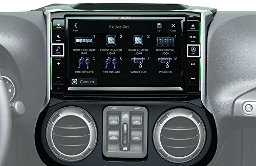 "Alpine Electronics X109-WRA 9"" Restyle Dash System for Je..."
