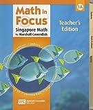 Math in Focus: Singapore Math: Teacher s Edition, Book A Grade 1 2009
