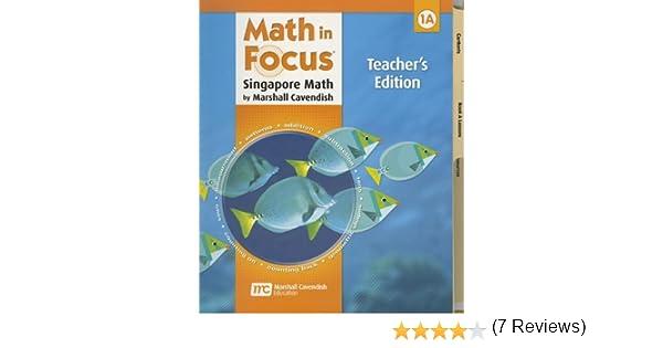 Amazon math in focus singapore math teachers edition book a amazon math in focus singapore math teachers edition book a grade 1 2009 9780669013153 great source books fandeluxe Image collections