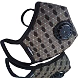 Vogmask Higgs Field N95 Carbon Filter Valve Filtering Mask / Adult Size 13+ Years